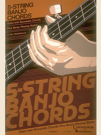 Product Cover for 5-String Banjo Chord Chart