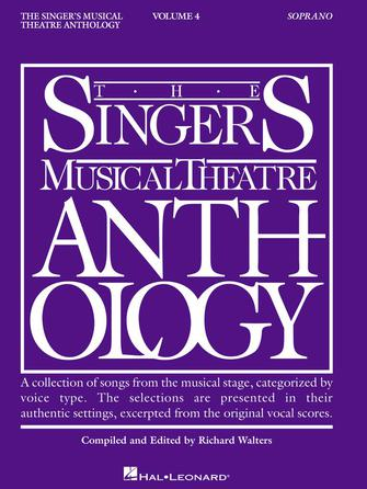 Product Cover for Singer's Musical Theatre Anthology – Volume 4