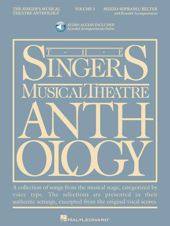 Product Cover for Singer's Musical Theatre Anthology – Volume 3