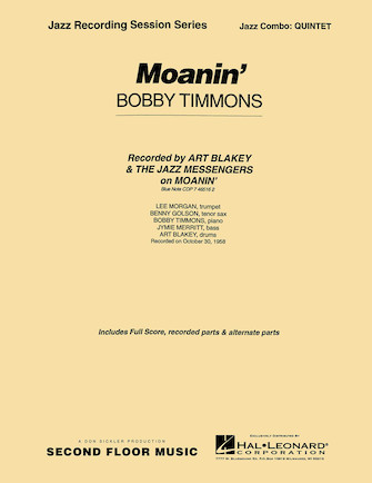 Product Cover for Moanin'