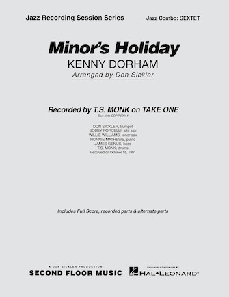 Product Cover for Minor's Holiday
