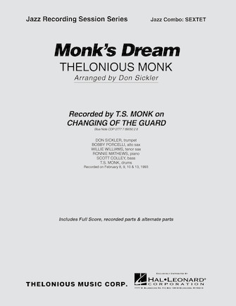 Product Cover for Monk's Dream