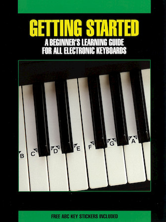 Product Cover for Getting Started for All Electronic Keyboards