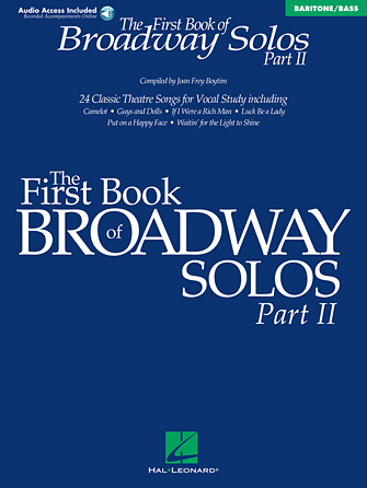 Product Cover for The First Book of Broadway Solos – Part II