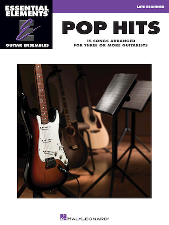 Product Cover for Pop Hits – 15 Songs Arranged for Three or More Guitarists