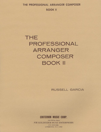 Product Cover for The Professional Arranger Composer – Book 2