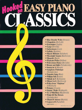Product Cover for Hooked on Easy Piano Classics