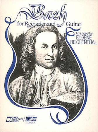 Product Cover for Bach for Soprano or Tenor Recorder and Guitar