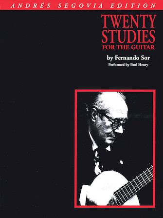 Product Cover for Andres Segovia – 20 Studies for Guitar