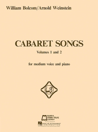 Product Cover for Cabaret Songs – Volumes 1 and 2