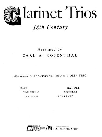 Product Cover for Clarinet Trios of the 18th Century