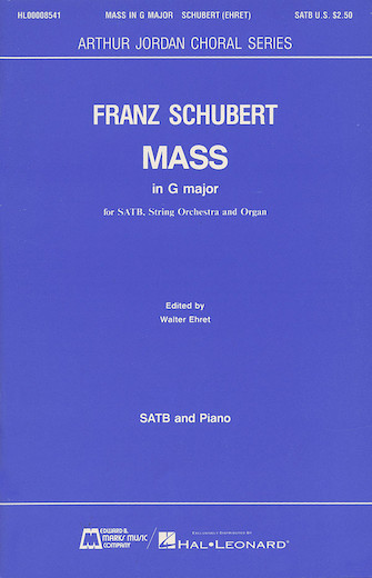 Product Cover for Mass in G Major