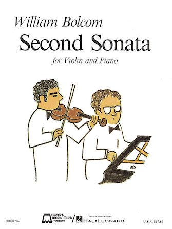 Product Cover for Second Sonata for Violin and Piano