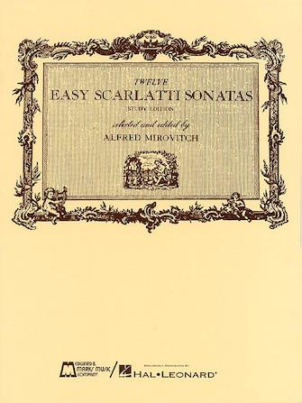 Product Cover for 12 Easy Scarlatti Sonatas