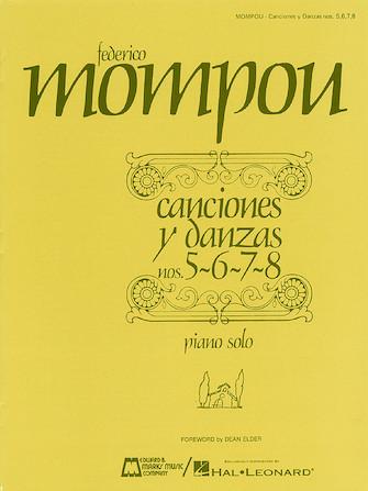 Product Cover for Canciones y danzas – Nos. 5, 6, 7, 8