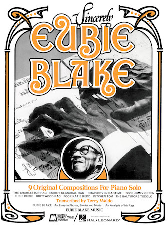 Product Cover for Sincerely Eubie Blake
