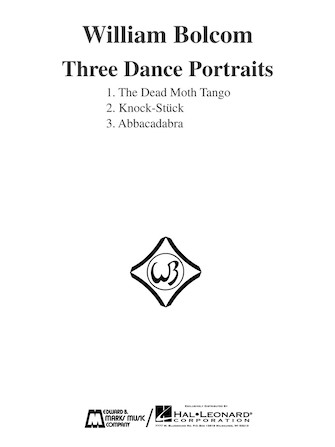 Product Cover for Three Dance Portraits