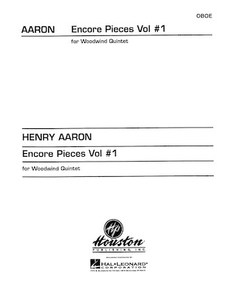 Product Cover for Encore Pieces for Woodwind Quintet, Vol. 1