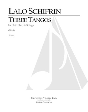 Product Cover for 3 Tangos for Flute, Harp and Strings