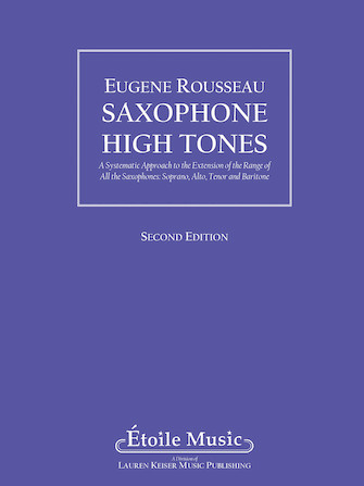 Product Cover for Saxophone High Tones