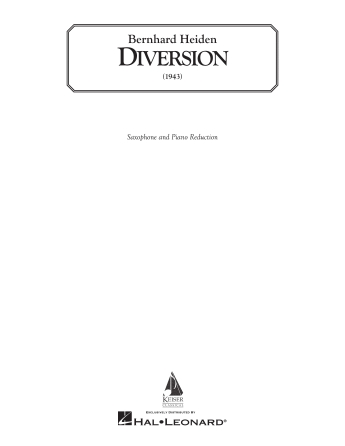 Product Cover for Diversion (piano reduction)