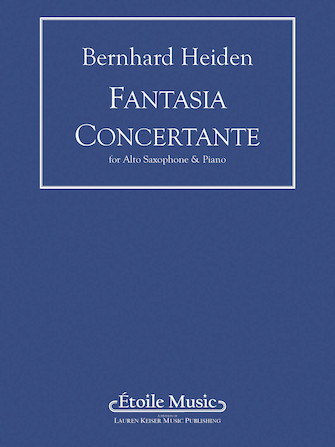 Product Cover for Fantasia Concertante (piano reduction)