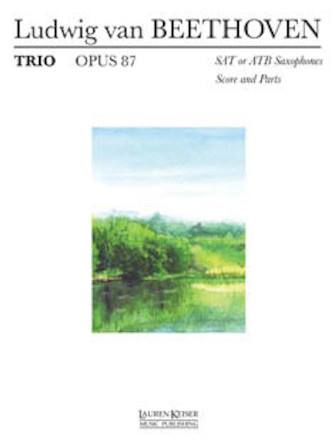 Product Cover for Trio Op. 87 (SAT or ATB)