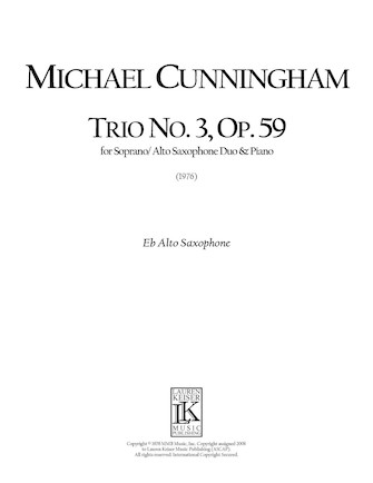 Product Cover for Trio No. 3, Op. 59
