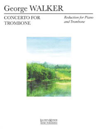 Product Cover for Concerto for Trombone and Orchestra (Piano Reduction)
