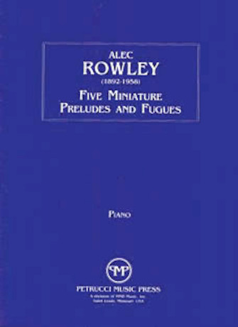 Product Cover for 5 Miniature Preludes and Fugues