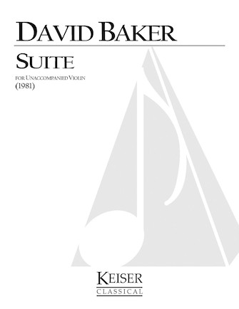 Product Cover for Suite for Unaccompanied Violin