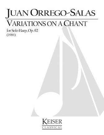 Product Cover for Variations on a Chant Op. 92