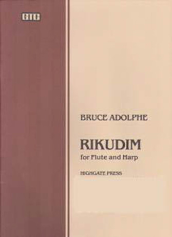 Product Cover for Rikudim for Flute and Harp