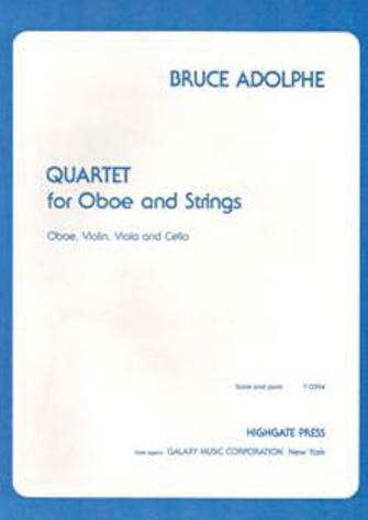 Product Cover for Quartet for Oboe & Strings