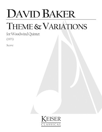 Product Cover for Theme and Variations for Woodwind Quintet