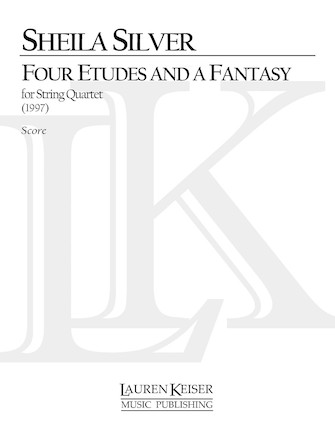 Product Cover for 4 Etudes and a Fantasy