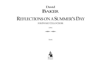 Product Cover for Reflections on a Summer's Day