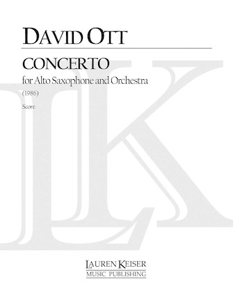 Product Cover for Saxophone Concerto
