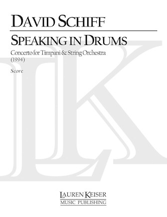 Product Cover for Speaking in Drums