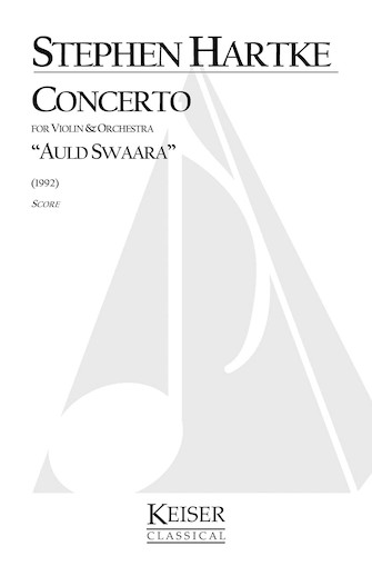 Product Cover for Concerto for Violin and Orchestra