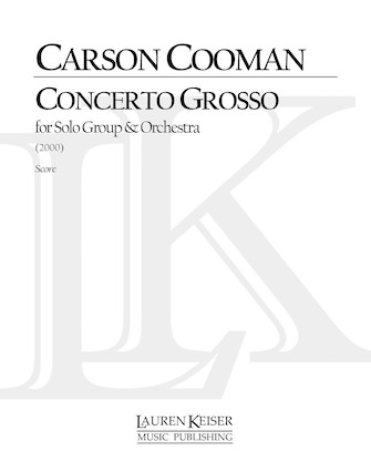Product Cover for Concerto Grosso