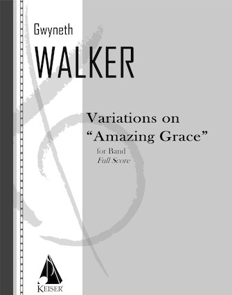 "Product Cover for Variations on ""Amazing Grace"""