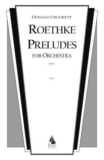Product Cover for Roethke Preludes