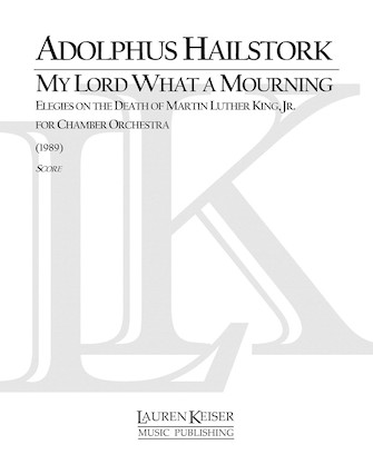 Product Cover for My Lord What a Mourning
