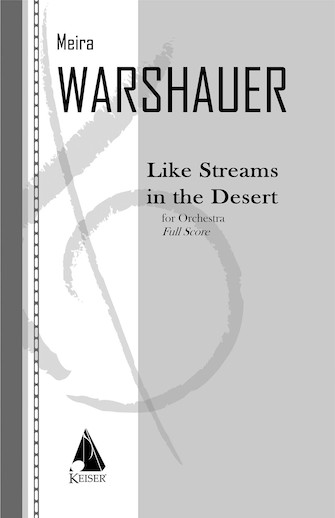 Product Cover for Like Streams in the Desert