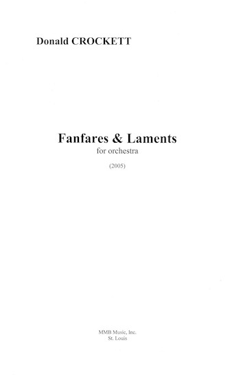Product Cover for Fanfares and Laments