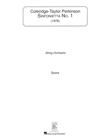 Product Cover for Sinfonietta No. 1