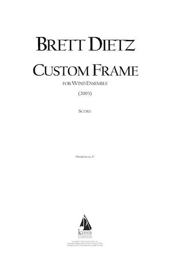 Product Cover for Custom Frame