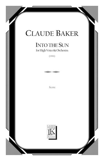 Product Cover for Into the Sun