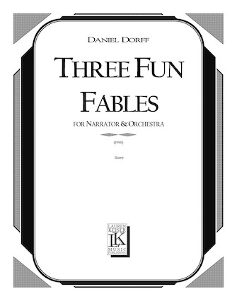 Product Cover for 3 Fun Fables